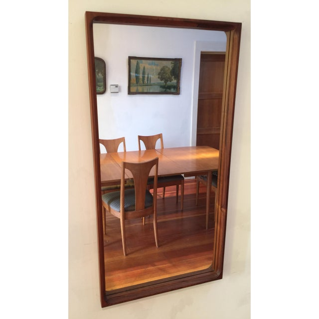Mid-Century Glass Master Markaryd Rectangular Mirror For Sale - Image 9 of 9