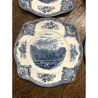 Johnson Bros English Ironstone Belvoir Castle Salad Plates - Set of 6 Preview
