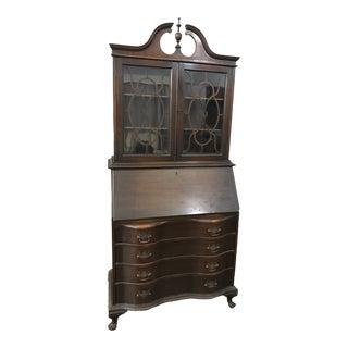 1930s Vintage Secretary Desk For Sale