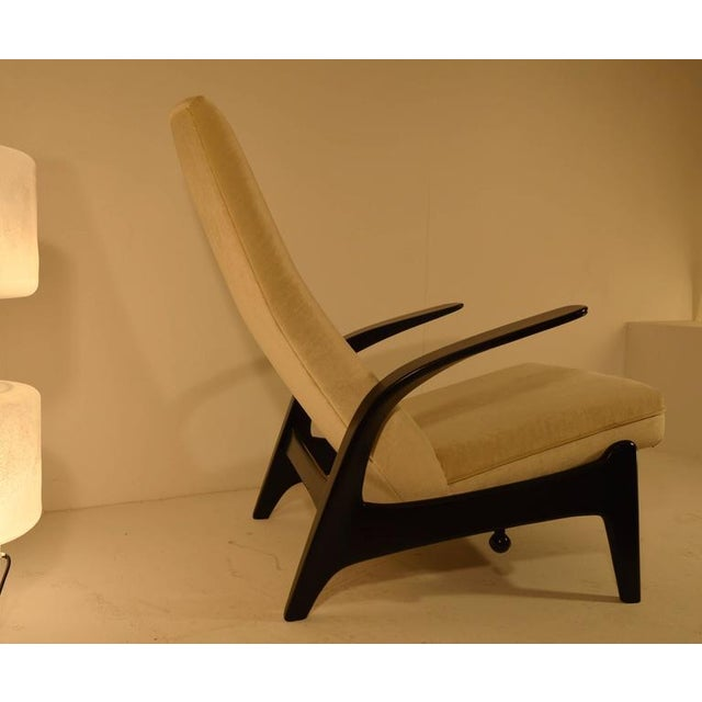 1960s Sculptural Gimson and Slater Rock'n Rest Lounge Chair For Sale - Image 5 of 8