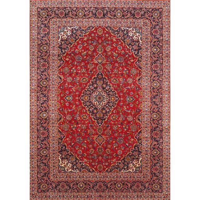 "Pasargad Kashan Collection Rug - 7'10"" X 11'3"" - Image 1 of 2"