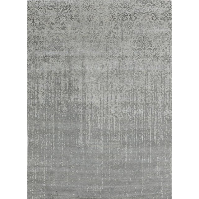 Pasargad Bamboo Silk & Wool Rug - 8′1″ × 10′ For Sale