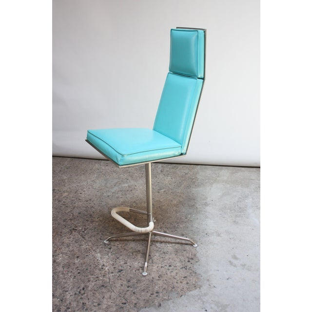 1960s Set of Three American Modern High-Back Barstools by Jansko For Sale - Image 5 of 13