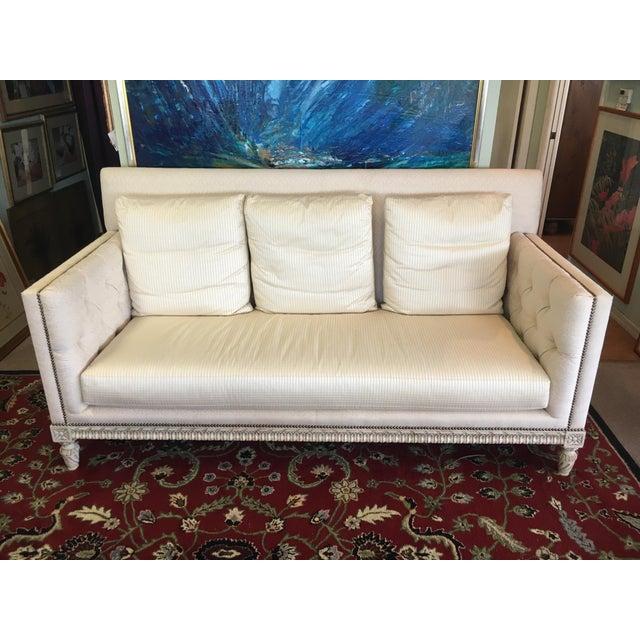 William Switzer Ivory Sofa - Image 2 of 9