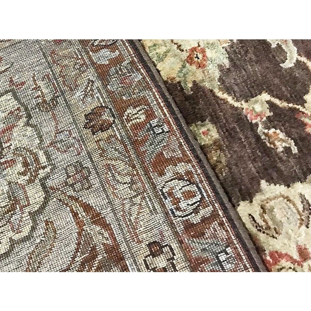 Traditional Traditional Hand Woven Rug - 10' X 10'1 For Sale - Image 3 of 4
