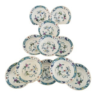 Antiques Asian Style Berry or Dessert Bowls - Set of 11 For Sale