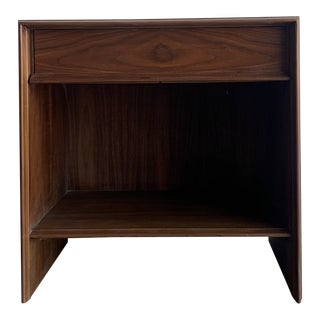John Widdicomb Nighstand in Walnut For Sale