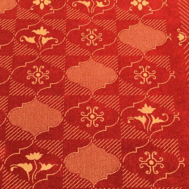 Prado Epos Red Wool Area Rug - 6′6″ × 9′10″ - Image 7 of 8
