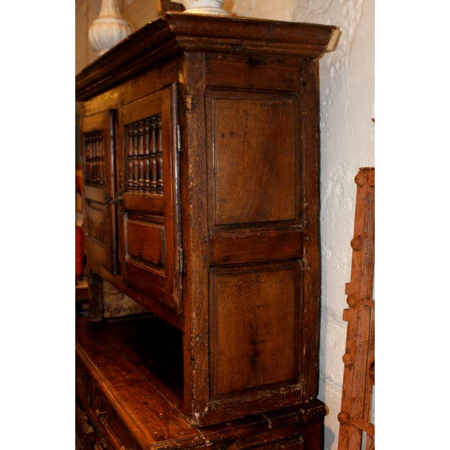 19th Century French Walnut 4 Door Cabinet For Sale In New York - Image 6 of 11