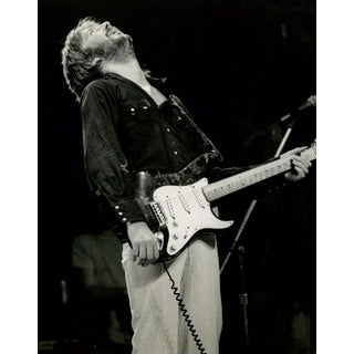 "1975 ""Eric Clapton, New York"" Photograph"
