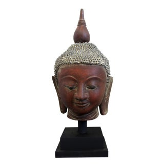 18th Century Asian Antique Burmese Buddha For Sale