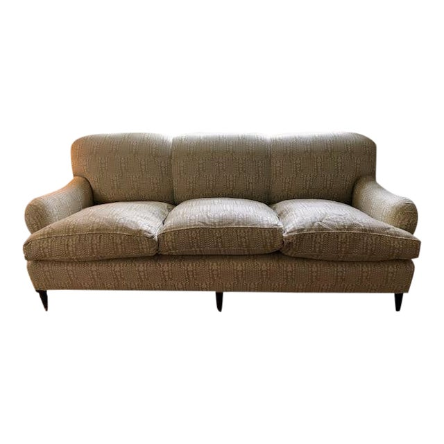 Modern George Smith Sofa For Sale
