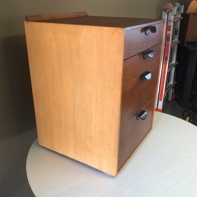 Finn Juhl for Baker Furniture Four Drawer Walnut Cabinet For Sale In Milwaukee - Image 6 of 13