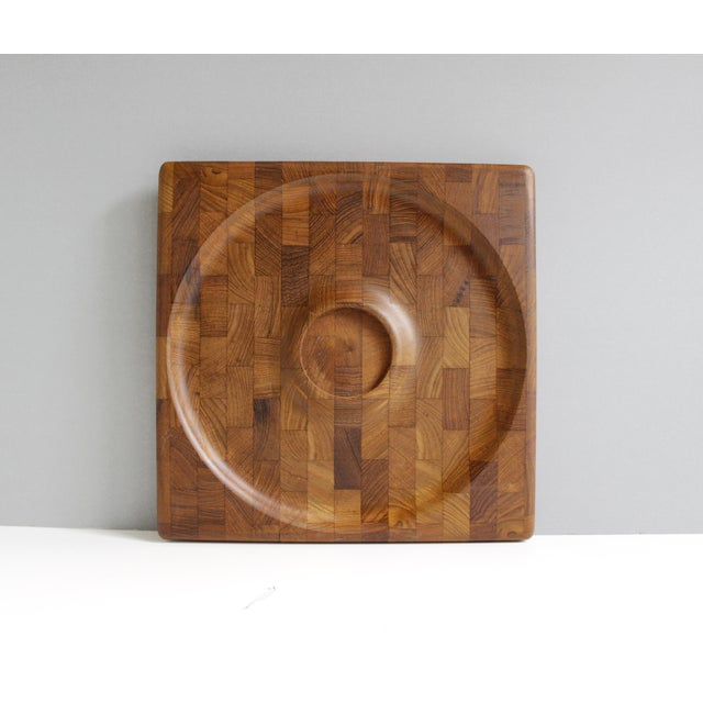Kalmar Danish Modern Teak Serving Tray Platter - Image 2 of 5