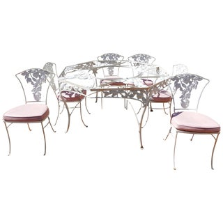 Molla Cast Aluminum 7-Piece Dining Set For Sale