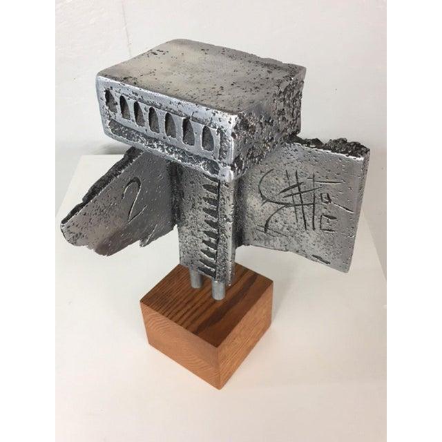 Gray Walter Schluep Sculpture For Sale - Image 8 of 10