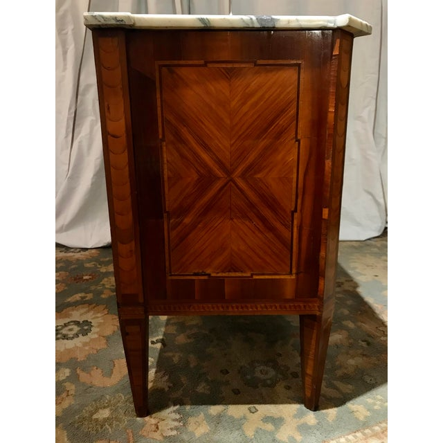 Italian Italian 19th Century Two Drawer Commode For Sale - Image 3 of 8