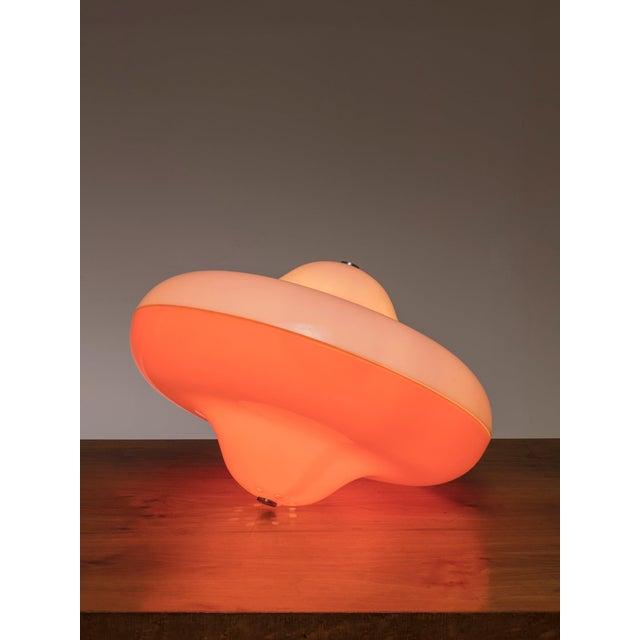 """1960s Rare """"Disco"""" Table Lamp by Cesare Casati for Guzzini For Sale - Image 5 of 5"""