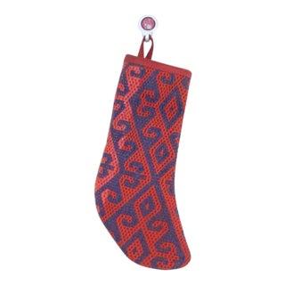 Christmas Stocking Made of Turkish Kilim For Sale