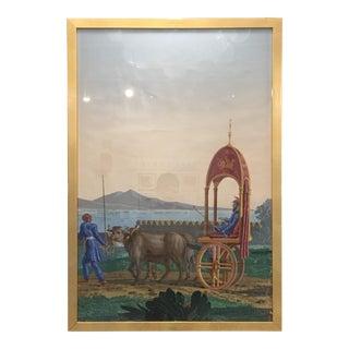 Framed Zuber Wallpaper Panel