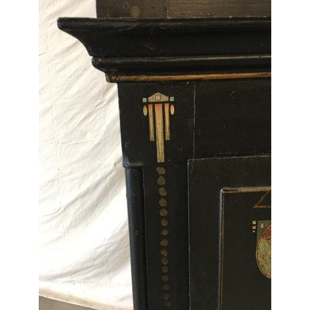 19th Century Danish Empire Long Case Clock For Sale - Image 4 of 11