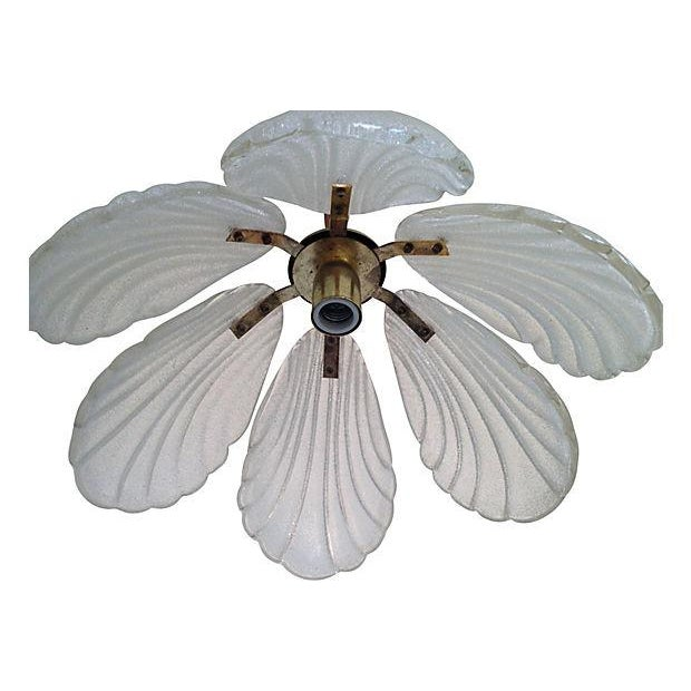 1960s Kalmar-Style Lotus Pendant - Image 5 of 6