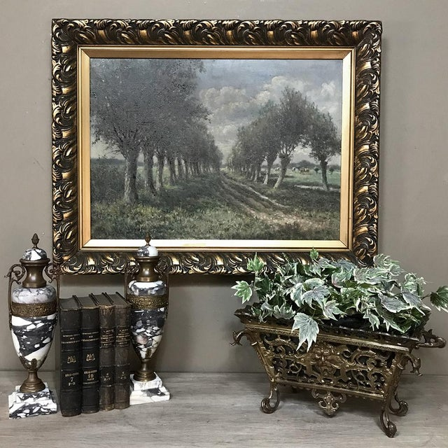 19th Century Marble & Bronze Cassolettes ~ Mantel Urns were crafted purely for decorative purposes, and will add a touch...