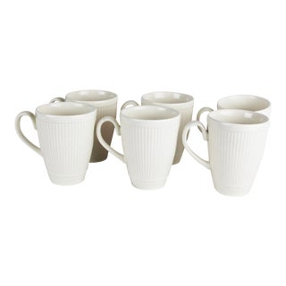 Wedgwood Windsor Pattern Mugs - Set of 6 For Sale
