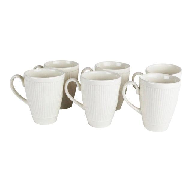 Wedgwood Windsor Pattern Mugs - Set of 6 For Sale