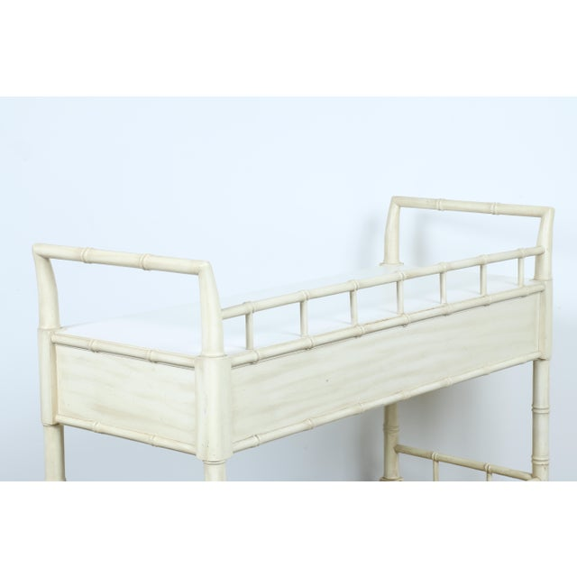 Thomasville Bamboo Style Serving Cart - Image 11 of 11