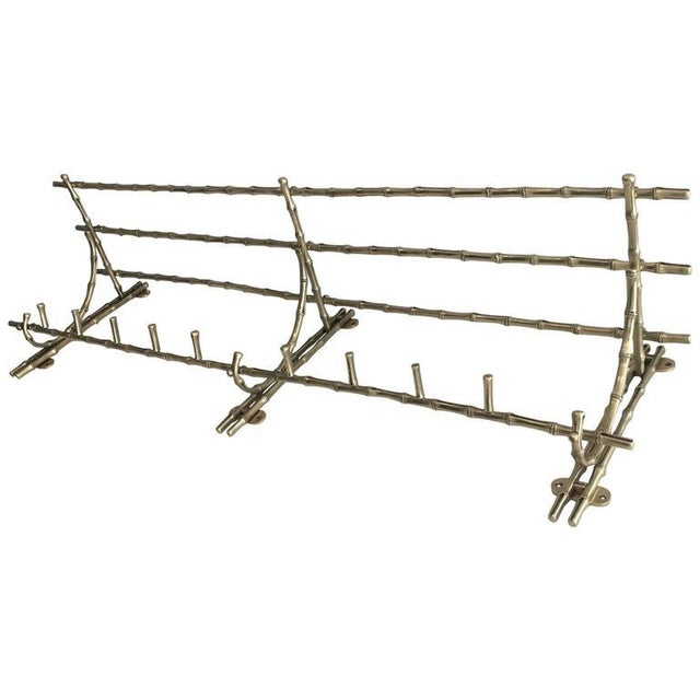 French Bronze Coat Rack by Maison Bagués. - Image 7 of 7