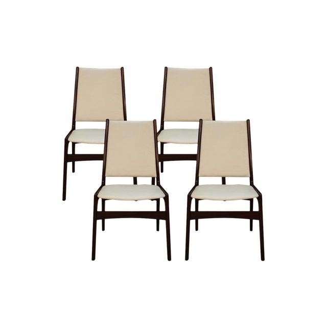 Anderstrup Mobelfabrik Uldum Rosewood Mid Century Danish Dining Chairs For Sale