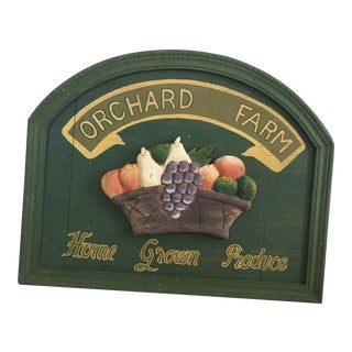 Country Produce Sign For Sale