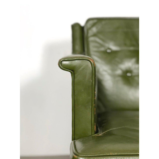 1950s Vintage Edward Wormley for Dunbar Petite Lounge Chair For Sale In Detroit - Image 6 of 11