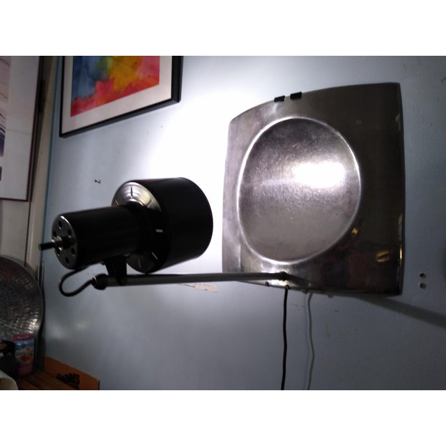 1970s Vintage Mid Century Style Reflector Wall/Ceiling Light For Sale - Image 12 of 12