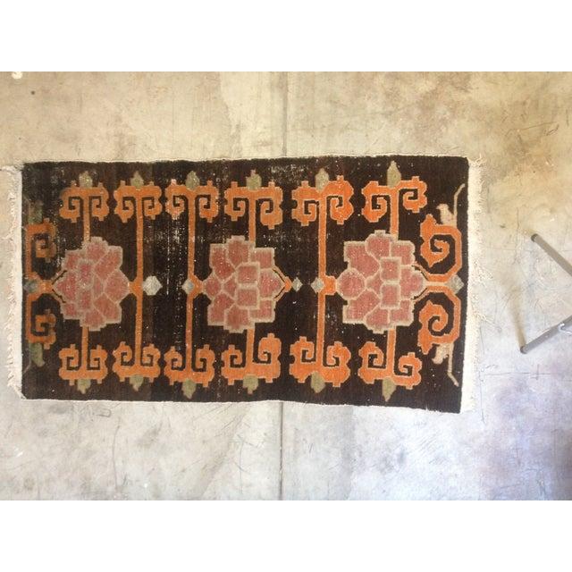 """Tibetan Lotus Pattern Rug - 3'1"""" x 5'9"""" - Image 2 of 7"""