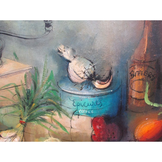 Modernist Abstract Ardoth Terrill Hughes Still Life Painting - Image 7 of 9