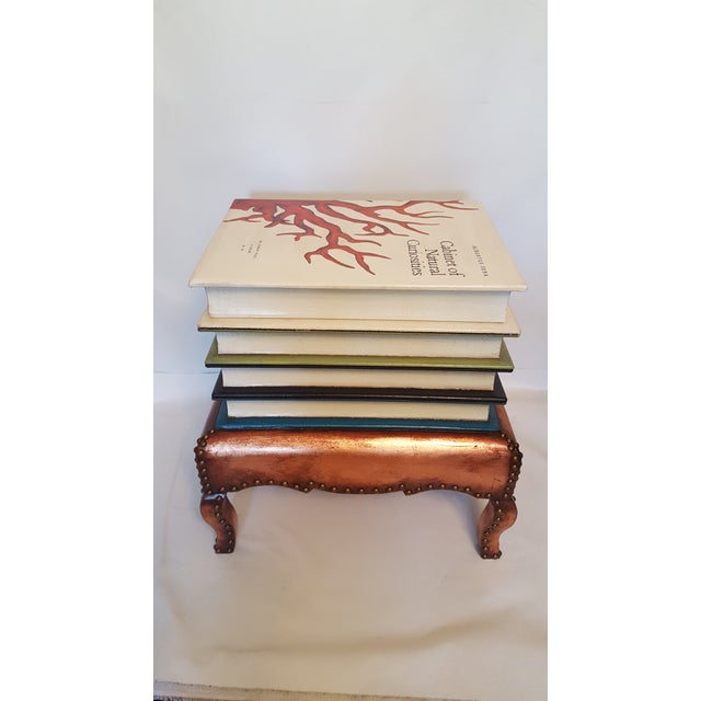 """Cabinet of Curiosities"" Lift Top Book Form Side Table For Sale - Image 5 of 10"