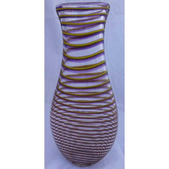 Mid-Century Style Studio Art Glass Vase - Image 2 of 8