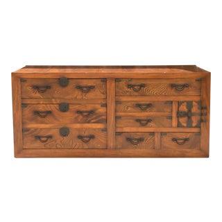 Magnificent Sendei-Dansu Tansu Dresser For Sale