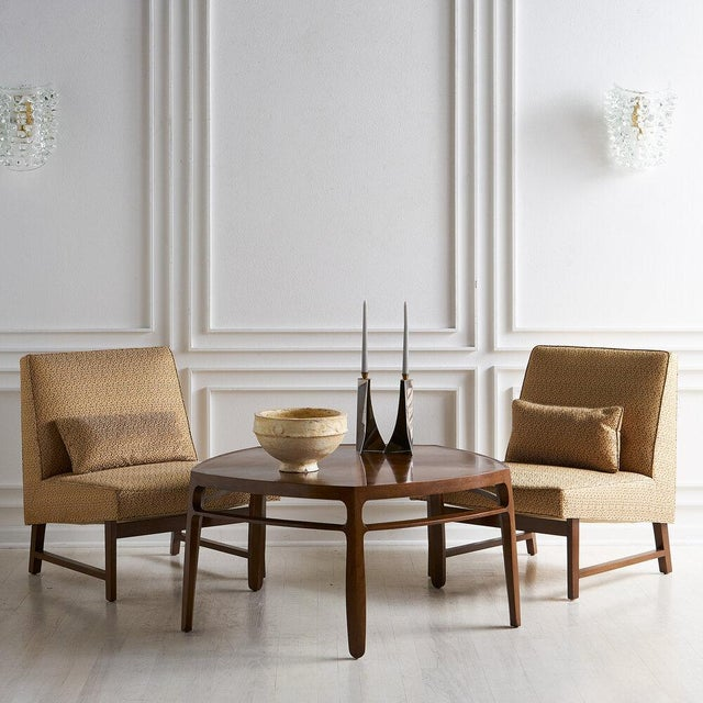 Five sided coffee table from the Janus collection by Edward Wormley for Dunbar.