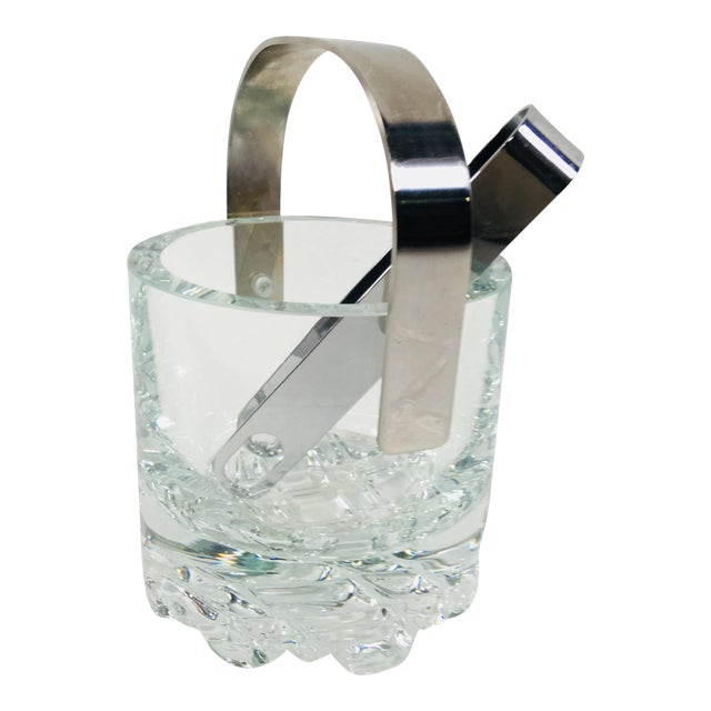 Orrefors Crystal Ice Bucket For Sale