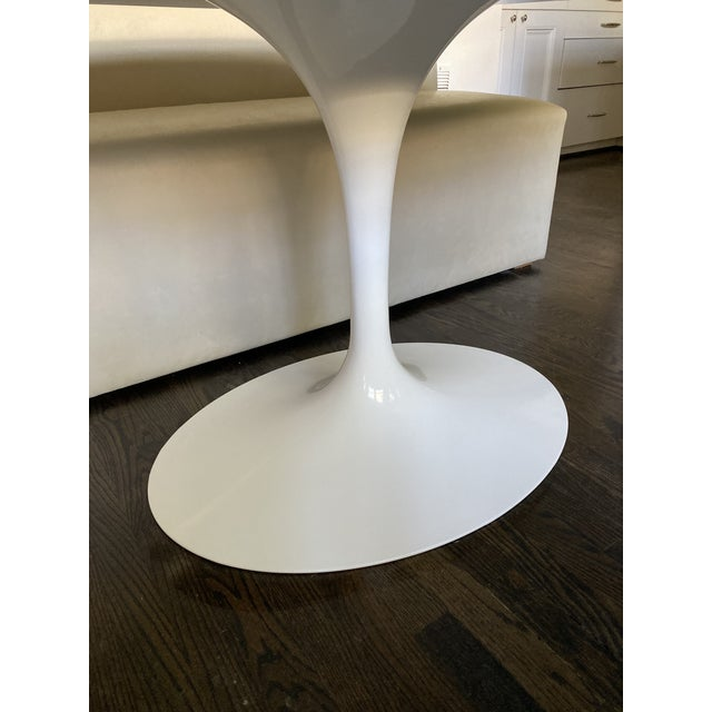 Mid-Century Modern Saarinen Oval Dining Table For Sale In Houston - Image 6 of 7