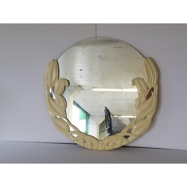 Casa Bique Art Deco Tulip Mirror by Merle Edelman For Sale In New York - Image 6 of 6