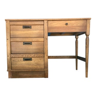 Petite Oak Writing Desk
