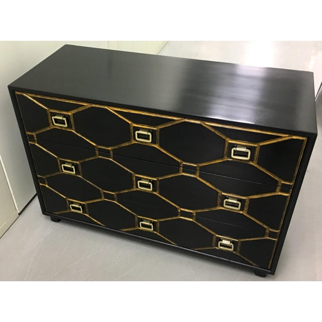1950s Dorothy Draper Black Viennese Collection Dresser For Sale - Image 5 of 9