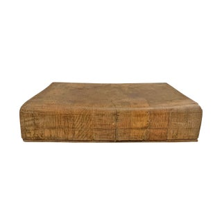Early 20th Century French Chopping Block For Sale