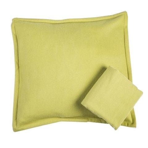 Room & Board Washable Wool Shams in Chartreuse - Image 1 of 6