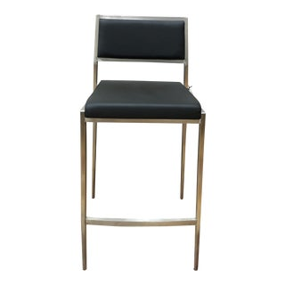 Dolemite Black Counter Stool For Sale