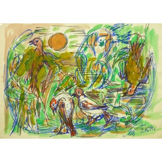 Irmgard Von Reppert, Drawing of Birds For Sale
